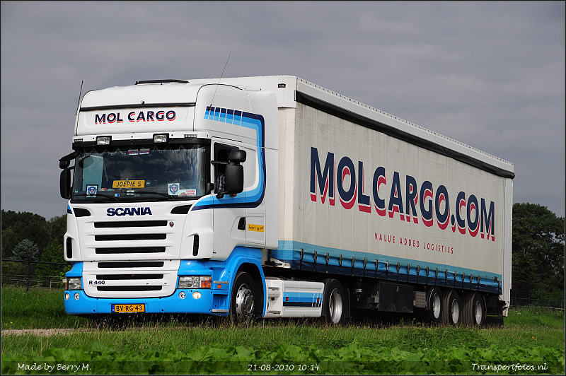 Ritregistratie trucks